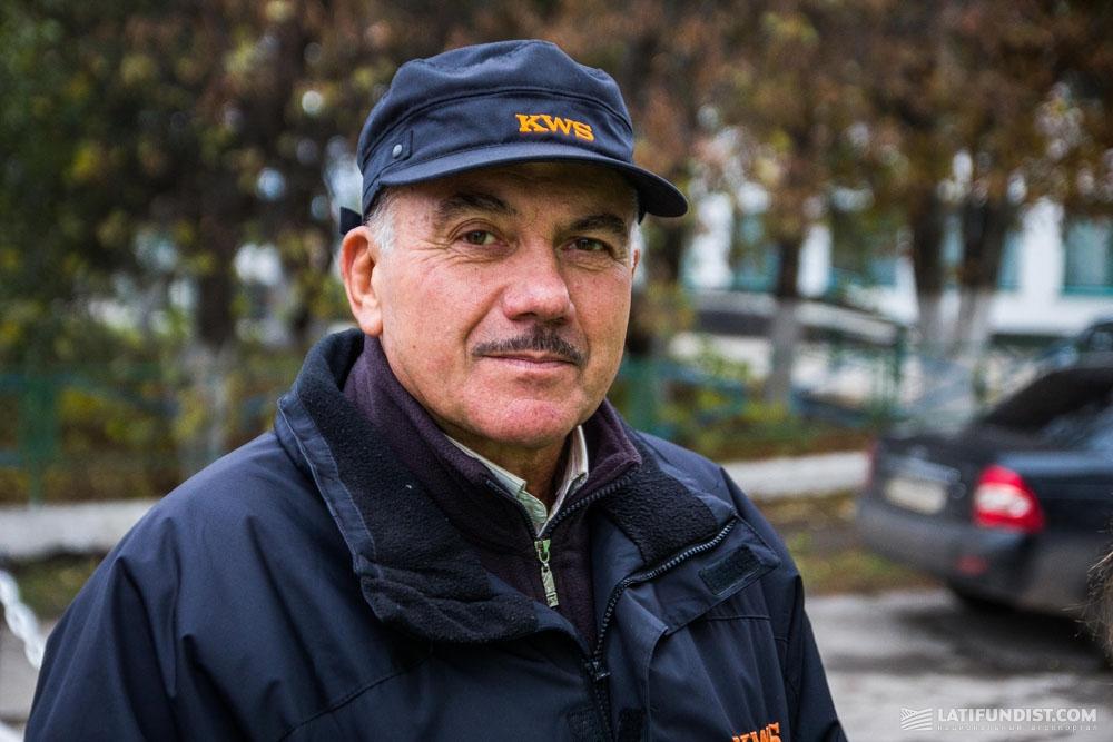 Николай Бовсуновский, представитель компании «КВС-УКРАИНА»